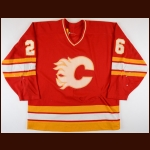 1993-94 Robert Reichel Calgary Flames Game Worn Jersey - Career Best 40-Goal, 53-Assist & 93-Point Season - Photo Match