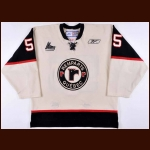 Mid 2000's Alexandre Mineault Quebec Remparts Game Worn Jersey