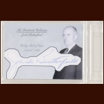 Jack Butterfield Autographed Card - The Broderick Collection - Deceased