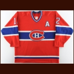 1994-95 Mike Keane Montreal Canadiens Game Issued Jersey