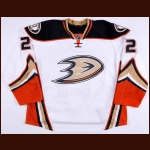 2014-15 Kyle Palmieri Anaheim Ducks Game Issued Jersey – Alternate