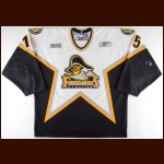 2007-08 Stephen Francella Kingston Frontenacs Game Worn Jersey