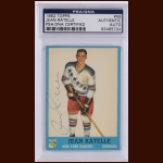 Jean Ratelle 1962 Topps – New York Rangers – Autographed – PSA/DNA