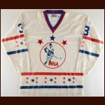 1972-73 J.C. Tremblay WHA All Star Game Worn Jersey - Inaugural Season - League Leading 75-Assists - Career Best 89-Points - 1st Team WHA All Star - Dennis A. Murphy Trophy
