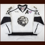 "2014-15 Bryan O'Neill Manchester Monarchs Game Issued Jersey – ""2015 Calder Cup Finals"" - 2014-15 AHL MVP - 2014-15 AHL Scoring Champion – Team Letter"