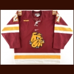 2007 Mike Curry University of Minnesota-Duluth Game Worn Jersey
