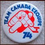 1974 WHA Summit Series Team Canada Pin