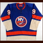 1974-75 Clark Gillies New York Islanders Game Worn Jersey – Rookie - Clark Gillies Letter