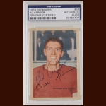 Al Arbour 1953 Parkhurst - Detroit Red Wings - Autographed - Deceased - PSA/DNA
