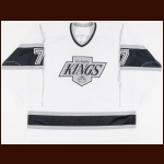 1993-94 Tomas Sandstrom Los Angeles Kings Game Worn Jersey
