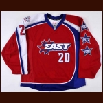 2009 Thomas Vanek Eastern Conference NHL All Star Practice Worn Jersey - NHL Letter
