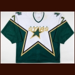 2003-04 Pierre Turgeon Dallas Stars Game Worn Jersey - Photo Match – Team Letter