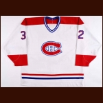 1990-91 Mario Roberge Montreal Canadiens Game Worn Jersey – Rookie