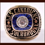 1984-85 Sherbrooke Canadiens Calder Cup Championship 10k Ring – Daigneault