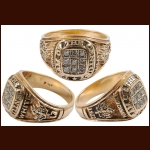 "Bill White 1972 Summit Series ""Team of the Century"" Ring – Genuine Diamond - 14k Gold – The Bill White Collection – Bill White Letter"
