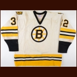 1979-80 Craig MacTavish Boston Bruins Game Worn Jersey – Rookie - Photo Match
