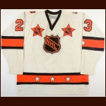 1981 Bob Gainey NHL All Star Game Worn Jersey