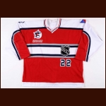 "2000 Milan Hejduk NHL All Star Game Worn Jersey – ""2000 NHL All Star Game"""