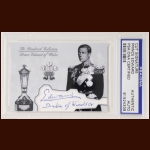 Prince Edward Duke of Wales Autographed Card - The Broderick Collection - Deceased