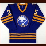 1983-84 Dave Andreychuk Buffalo Sabres Game Worn Jersey - 2nd NHL Season - Photo Match