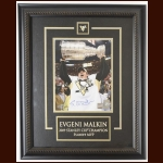 Evgeni Malkin Pittsburgh Penguins Autographed Display – 2009 Stanley Cup  - Frameworth & NHL Holograms