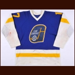 Early 1980's Flint Generals Game Worn Jersey – Player #17