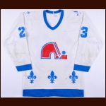 1980-81 Jacques Richard Quebec Nordiques Game Worn Jersey - 50-Goal & 100-Point Season