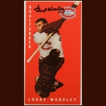 "1964-65 Parkhurst Reprint Lorne ""Gump"" Worsley Montreal Canadiens Autographed Card – Deceased"