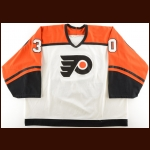1995-96 Garth Snow Philadelphia Flyers Game Worn Jersey