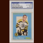 Doug Mohns 1959 Topps - Boston Bruins - Autographed - Deceased - PSA/DNA