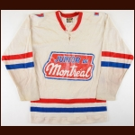 Circa 1975-76 Kevin Reeves Montreal Juniors Game Worn Jersey