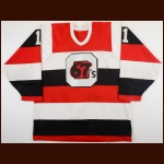 1990-91 Jason Snow Ottawa 67's Game Worn Jersey