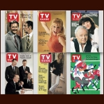 TV GUIDE COLLECTION - lot of 6