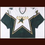 2003-04 Stu Barnes Dallas Stars Game Worn Jersey – Team Letter