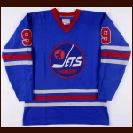 1974-75 Bobby Hull WHA Winnipeg Jets Game Worn Jersey - MVP Season - 50 Goals in 50 Games - Career Best 77 Goal & 142 Point Season - Photo Match
