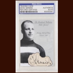 Eddie Gerard Autographed Card - The Broderick Collection - Deceased