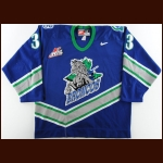 2001-02 Jeremy Williams Swift Current Broncos Game Worn Jersey