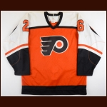 Brian Propp Philadelphia Flyers Autographed Replica Jersey