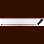 Glenn Anderson Edmonton Oilers Orange sided Montreal Game Used Stick – Autographed – Stanley Cup Season