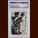 Darryl Sittler 1976 Glossy Inserts – Toronto Maple Leafs – Autographed – PSA/DNA