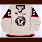 2010-11 Guillaume Rousseau & 2011-12 Mikhail Grigorenko Quebec Remparts Game Worn Jersey - Photo Match - Grigorenko's 1st Jersey