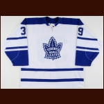 2000-01 Alexei Ponikarovsky Toronto Maple Leafs Game Worn Jersey – Alternate - Rookie