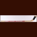 Randy Gregg Edmonton Oilers Red Titan Game Used Stick
