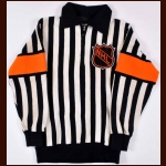 Circa Late 1960's NHL Referee #4 Game Worn Jersey