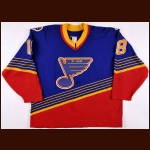 1994-95 Tony Twist St. Louis Blues Game Worn Jersey