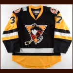2017-18 Colin Smith Wilkes-Barre/Scranton Penguins Game Worn Jersey - Photo Match – Team Letter