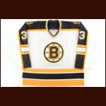 2005-06 Hannu Toivonen Boston Bruins Game Worn Jersey – Rookie - Photo Match