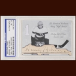 "Harry ""Hap"" Holmes Autographed Card - The Broderick Collection - Deceased"