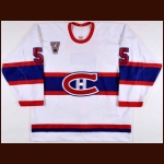 "2003-04 Stephane Quintal Montreal Canadiens Game Worn Jersey – ""Vintage"" - Photo Match"