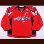 2013-14 Nicklas Backstrom Washington Capitals Game Worn Jersey - Photo Match